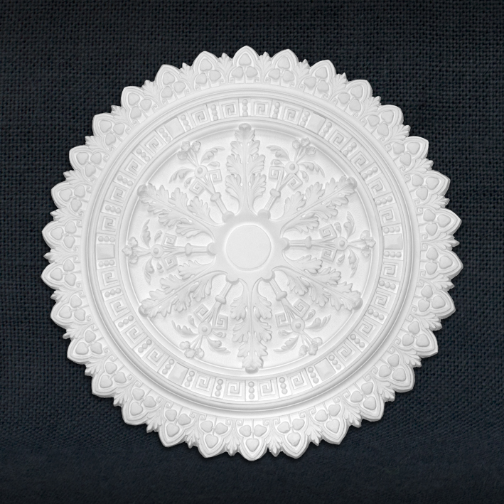aristocrat-mouldings-greek-key-rose-ceiling-rose